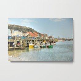 Bridlington Harbour Metal Print