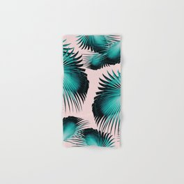 Fan Palm Leaves Paradise #4 #tropical #decor #art #society6 Hand & Bath Towel