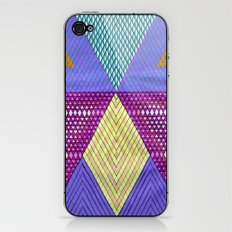 Isometric Harlequin #9 iPhone & iPod Skin