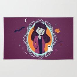 Halloween Girl Rug