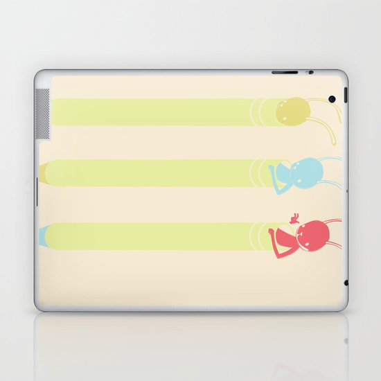 INK BUNNY & ROLL Laptop & iPad Skin