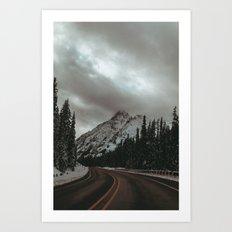 Mountain Road Art Print