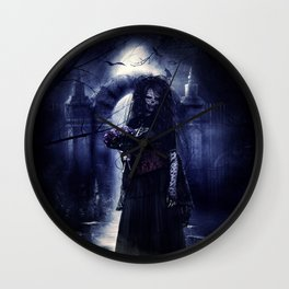 Living Dead Bride Wall Clock