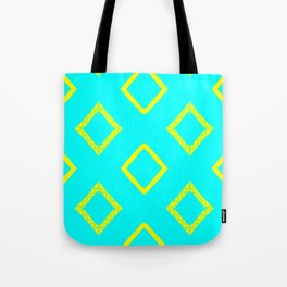 Jairus Turquoise Tote Bag