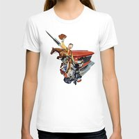 western T-shirts featuring Western by Lerson