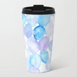 Watercolor blobs Travel Mug