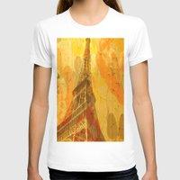 eiffel T-shirts featuring Eiffel by 3crows