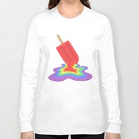 popsicle Long Sleeve T-shirts featuring Popsicle by BTP Designs