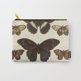 BUTTERFLIES Albertus Seba 1765 Insects Cabinet of Curiosities Carry-All Pouch