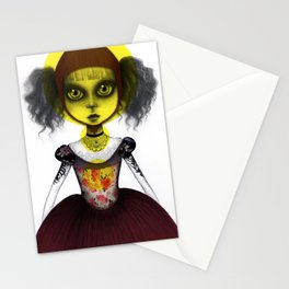 Doll 2 Stationery Cards