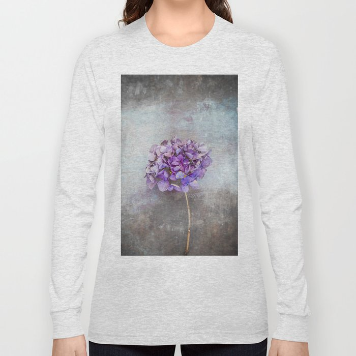 Beautiful Lilac Hydrangea Long Sleeve T-shirt