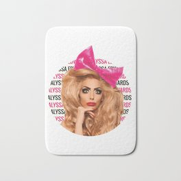 Alyssa Edwards - Circle Bath Mat