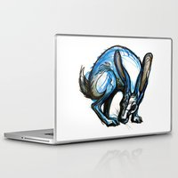 hare Laptop & iPad Skins featuring Hare by Meredith Nolan
