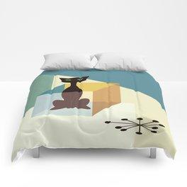 Schrodinger's cat Comforters