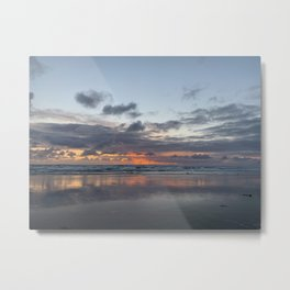 Newport Beach Sunset May Metal Print