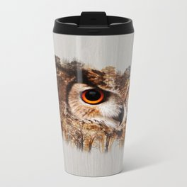 Home of the one who sees it all Metal Travel Mug