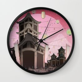 Places to remember... Wall Clock