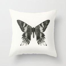 Madagascan Sunset Moth Throw Pillow