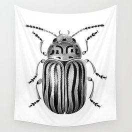 Beetle 06 Wall Tapestry