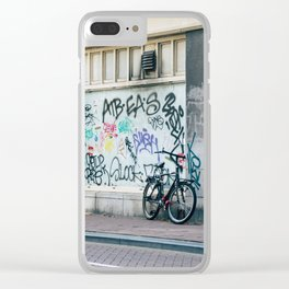 Streets of Amsterdam Clear iPhone Case