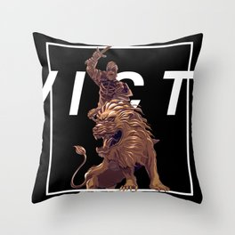 To Victory! Throw Pillow