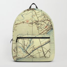 Vintage Map of Myrtle Beach South Carolina (1940) Backpack