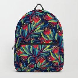 Pohutukawa - Red / Green Backpack