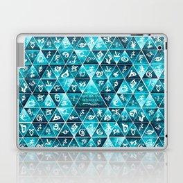 Blackthorn Family Motto Mosaic Laptop & iPad Skin