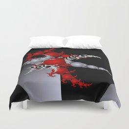 red white black -3- Duvet Cover