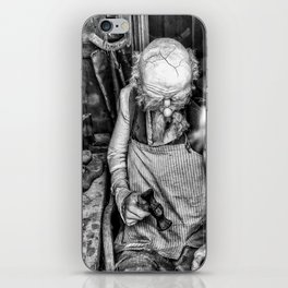 The Cobbler ( Black & White ) iPhone Skin