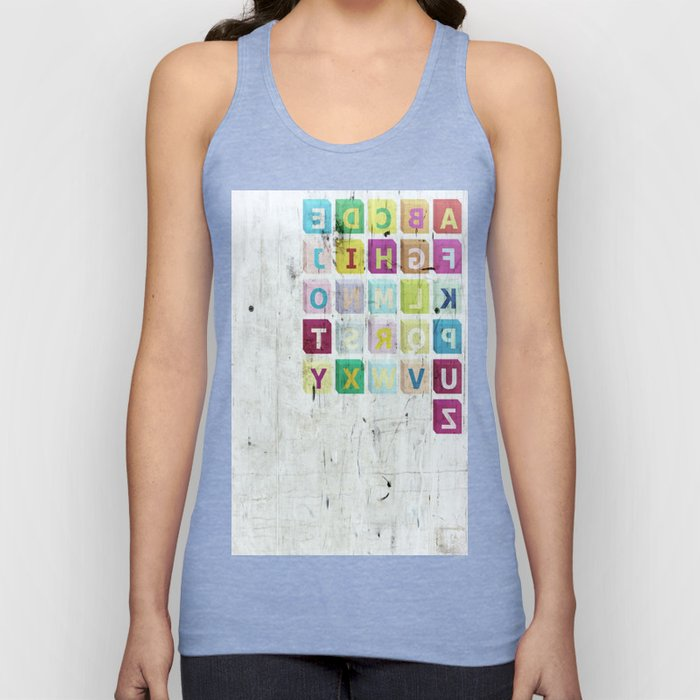 encrypted message Unisex Tank Top