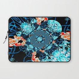 HypnoSpace- Tangent Blue & Orange Laptop Sleeve
