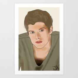 Daniel Sharman Art Print