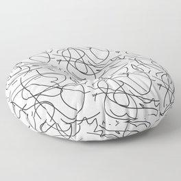 One Line Floor Pillow