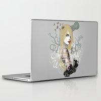 cara Laptop & iPad Skins featuring Cara by lalinsan