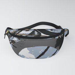 Enso Groove E by Kathy Morton Stanion Fanny Pack