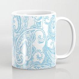 Paisley batik aqua Coffee Mug