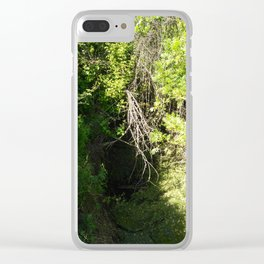 Waterfall branches Clear iPhone Case