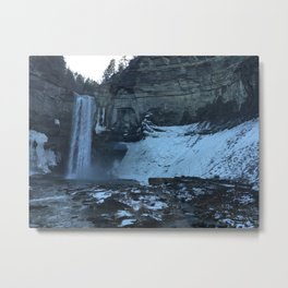Ithica Gorges Taughannock Falls Metal Print