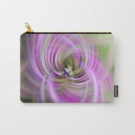 Meditation Swirl Purple Wisconsin Wildflower Carry-All Pouch