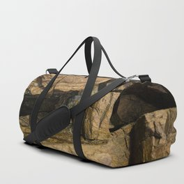 Door into the Cliff Face Duffle Bag