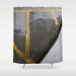garage texture 2 Shower Curtain