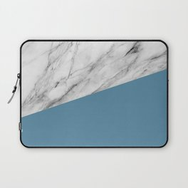 Marble and Niagara Color Laptop Sleeve