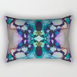 Caves Rework #1 Rectangular Pillow
