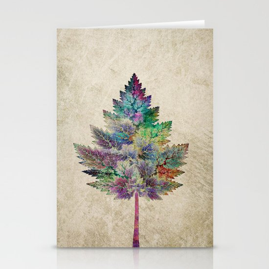 Like a Tree 2. version Stationery Cards