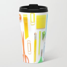 A Work Space Rainbow Travel Mug
