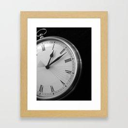 Eight Seconds Framed Art Print