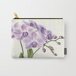 Purple phalaenopsis artwork Carry-All Pouch