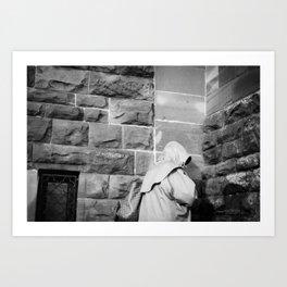 Hooded Figure Art Print