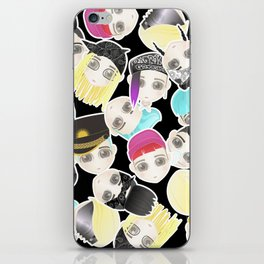 BIGBANG Collage (Black) iPhone Skin